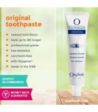 Зубная паста без фтора против запаха изо рта Oxyfresh Original Toothpaste 156g