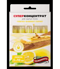 Суперконцентрат Un Momento для мытья пола (плитка, ламинат, паркет) - Лимон / 350305