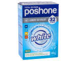 Концентрат для стирки белого белья POSHONE white (32 стирки) 1КГ  /020035 (R)