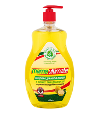MAMA Ultimate Средство для мытья посуды (свежий лимон) fresh lemon 1000 мл / 043151