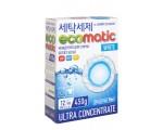Концентрированный стиральный порошок ECOMATIC WHITE 450 гр./040389