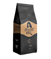 Кофе натуральный жареный в зернах Arabica Brasiliana caffe/1000 гр/12 шт/003009