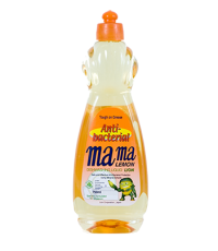 MAMA LEMON Средство для мытья посуды (антибактериальная)  orange 750МЛ /463068