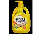 Средство для мытья посуды MAMA LEMON (золотая) gold quick rinse 1000МЛ / 461064