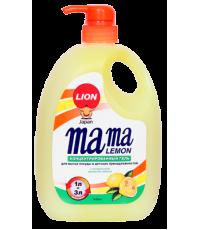 MAMA LEMON Средство для мытья посуды (свежий лимон) fresh lemon 1000МЛ / 46201