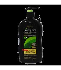 Шампунь с органическим маслом отрубей Moisture Shampoo KERATIN /040310