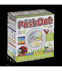 Концентрат для стирки детского белья POSHONE eco baby delicate (32 стирки) 1 КГ /929151