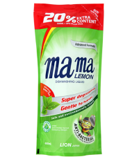 Средство для мытья посуды (зеленый чай) MAMA LEMON  green tea 600МЛ /46336