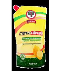 Средство для мытья посуды MAMA Ultimate (свежий лимон)  fresh lemon 1000 мл /049313