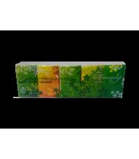 Бумажные платочки Flowerwey с ароматом зеленого чая / 436925